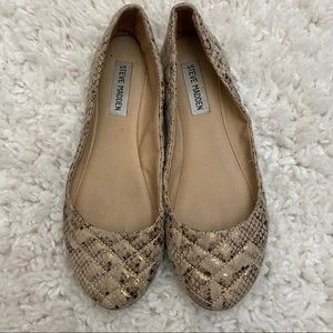 Steve Madden Quilted Flats Size 8.5